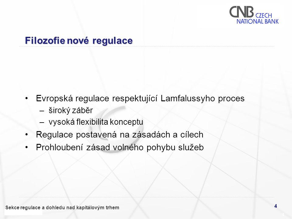 Filozofie nové regulace