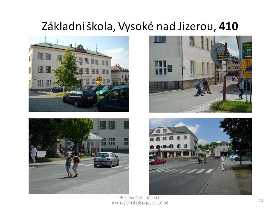 Základní škola, Vysoké nad Jizerou, 410