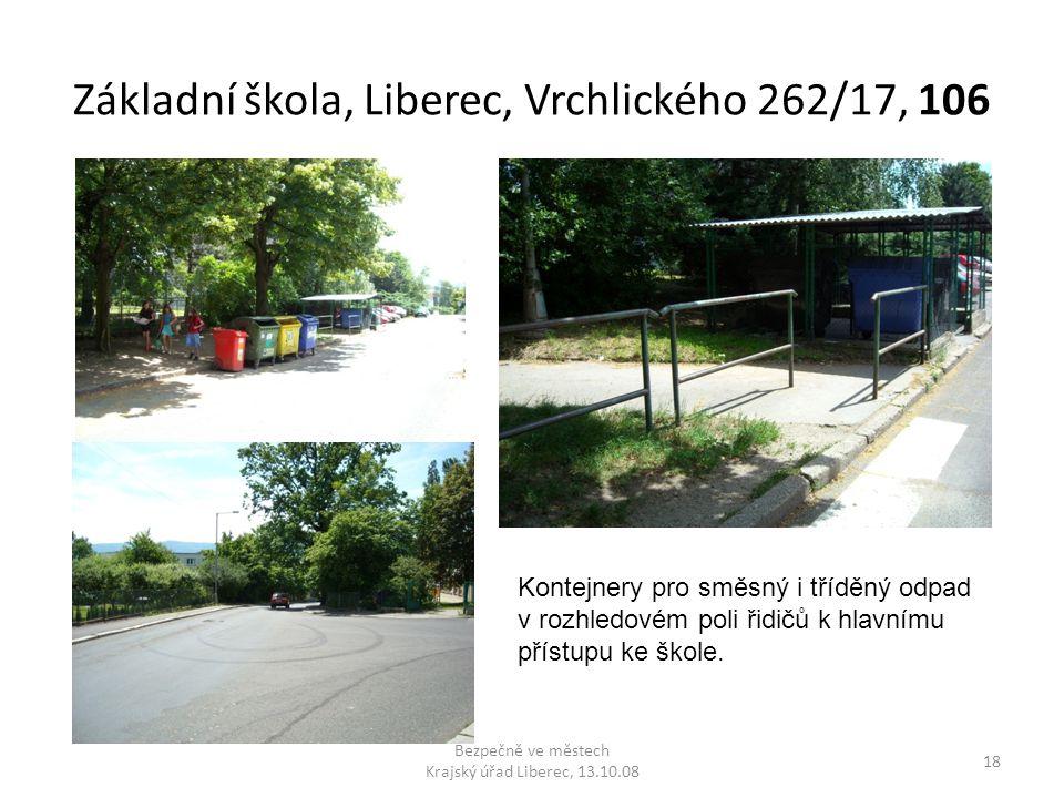 Základní škola, Liberec, Vrchlického 262/17, 106