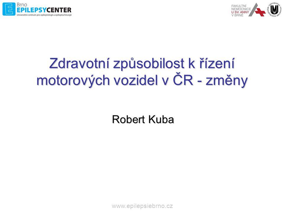 Zdravotní způsobilost k řízení motorových vozidel v ČR - změny