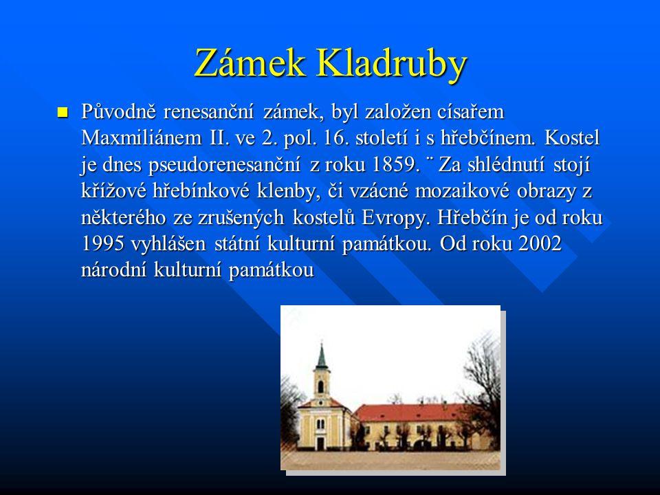 Zámek Kladruby