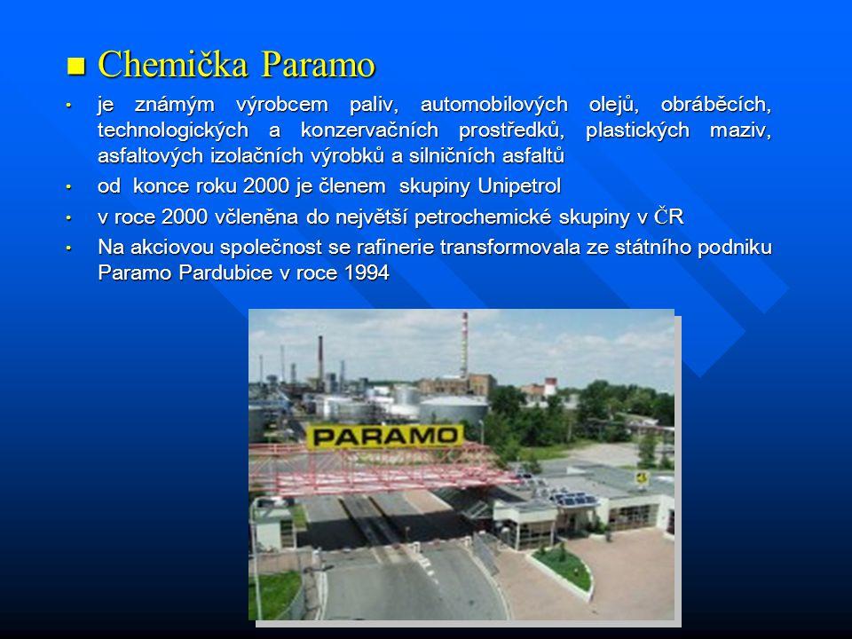 Chemička Paramo