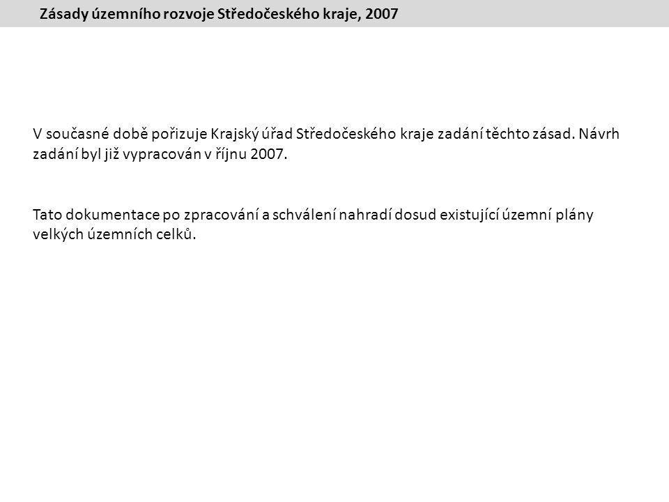 Zásady územního rozvoje Středočeského kraje, 2007