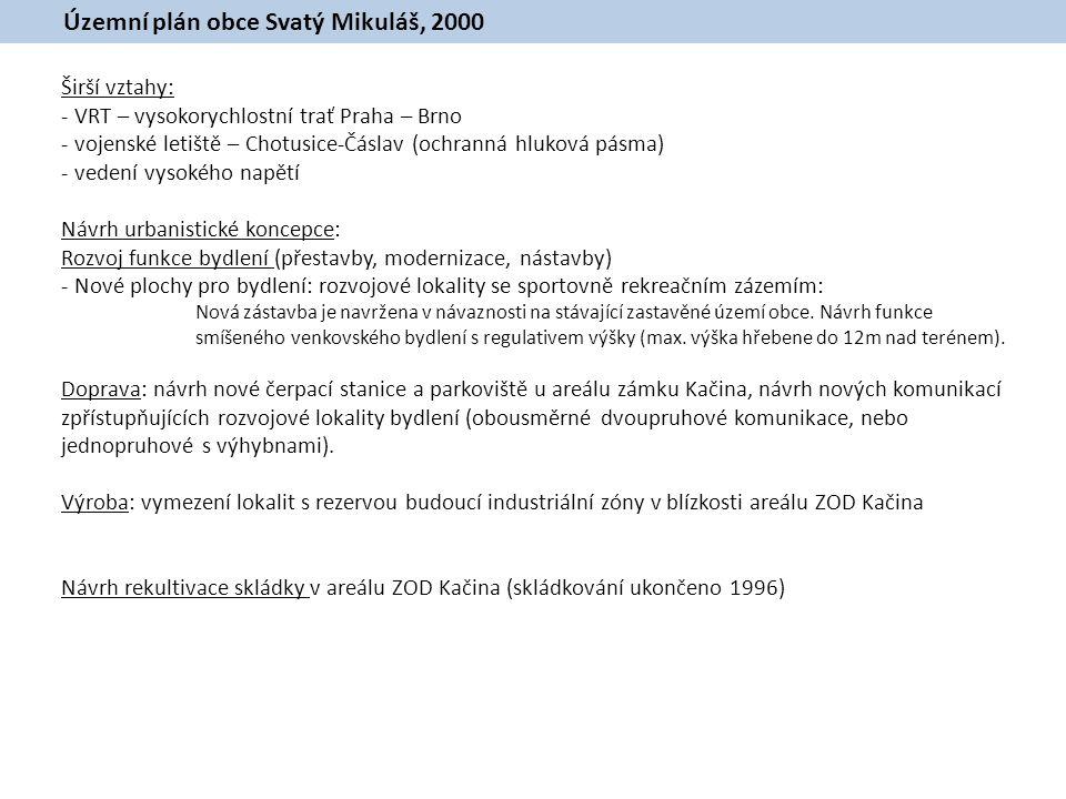 Územní plán obce Svatý Mikuláš, 2000