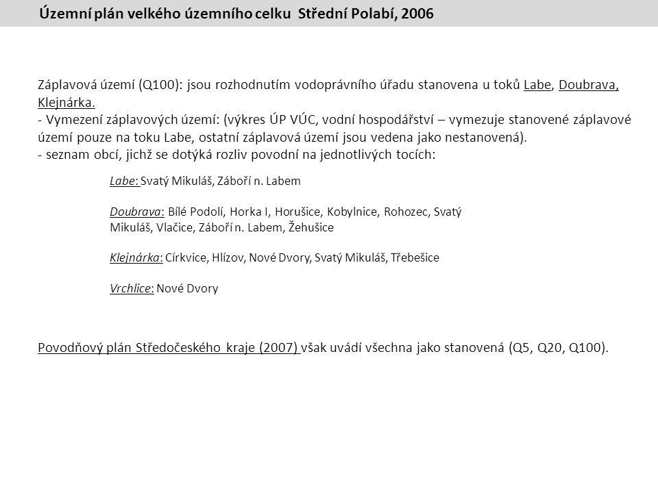 Územní plán velkého územního celku Střední Polabí, 2006