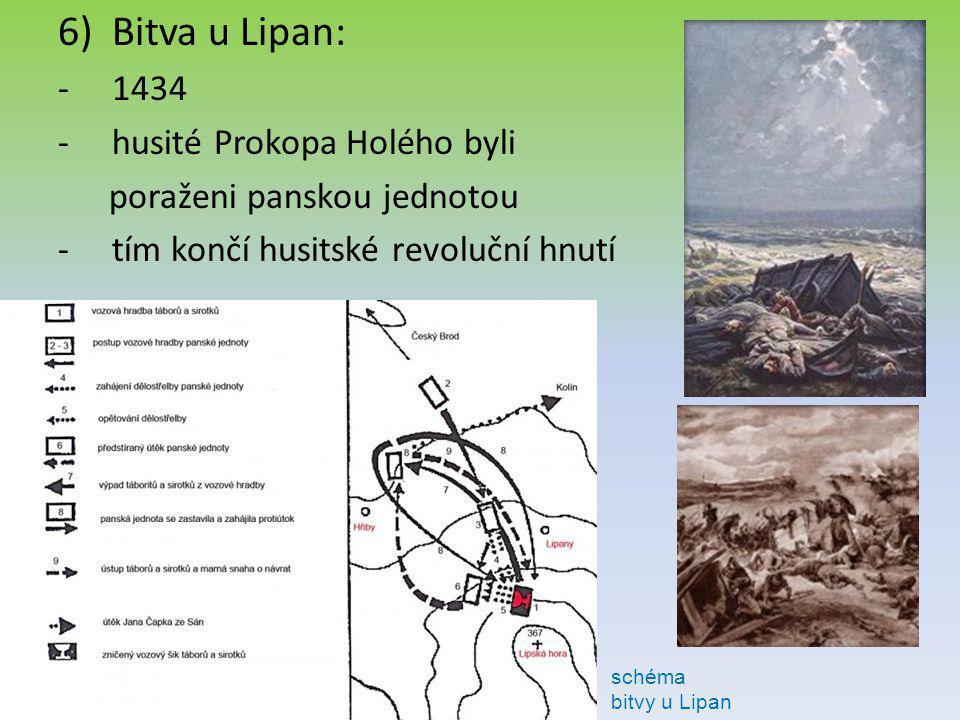 Bitva u Lipan: 1434 husité Prokopa Holého byli