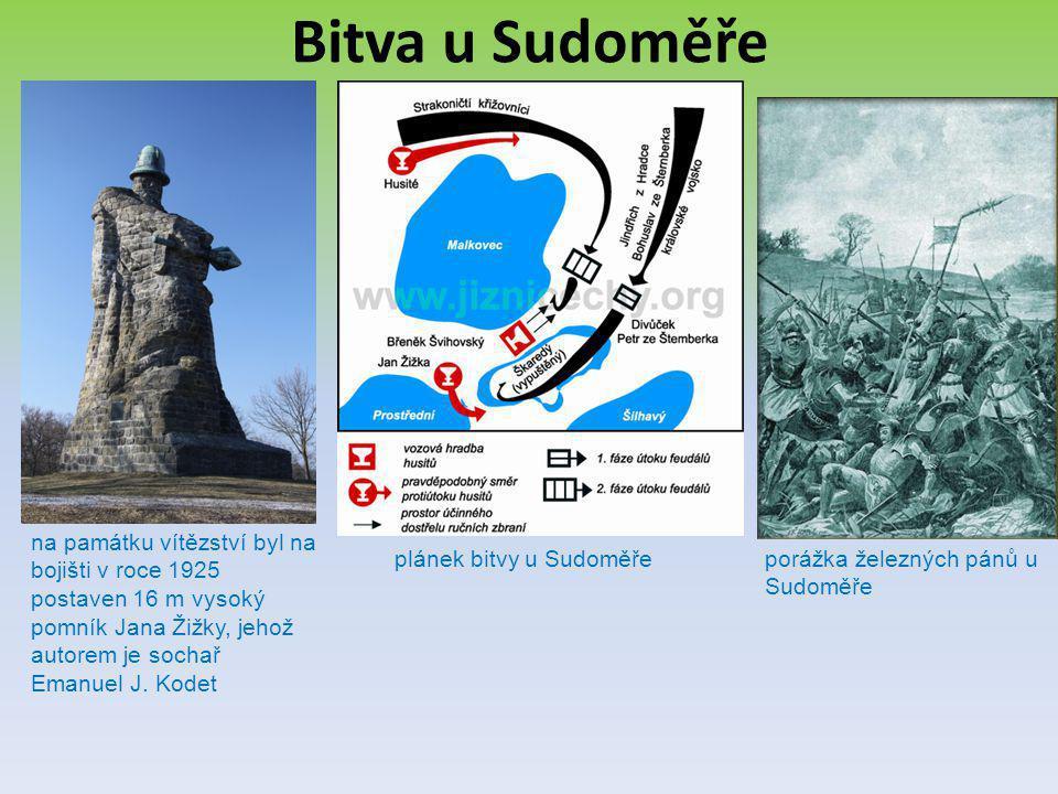 plánek bitvy u Sudoměře