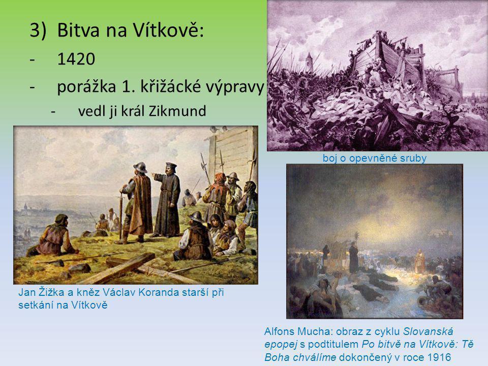 Bitva na Vítkově: 1420 porážka 1. křižácké výpravy