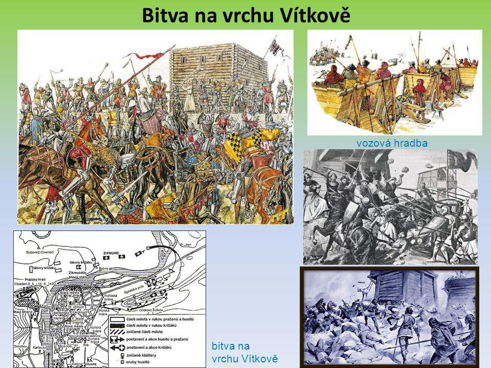 Bitva na vrchu Vítkově vozová hradba bitva na vrchu Vítkově