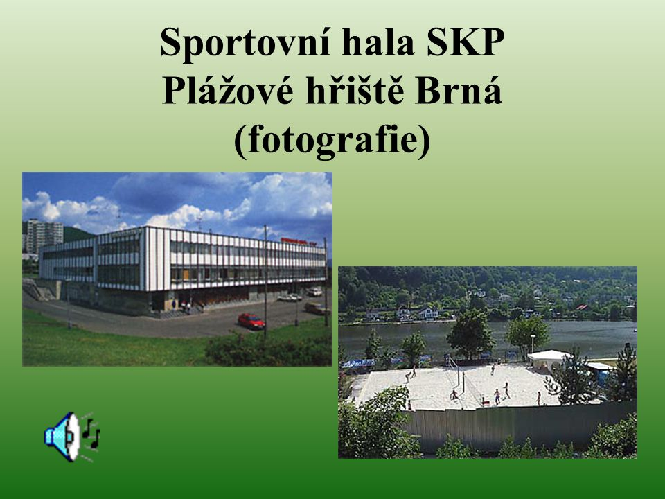 Sportovní hala SKP Plážové hřiště Brná (fotografie)