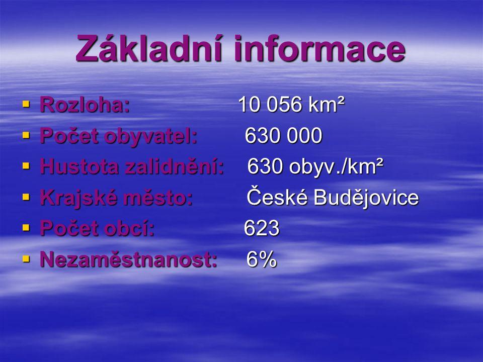 Základní informace Rozloha: 10 056 km² Počet obyvatel: 630 000