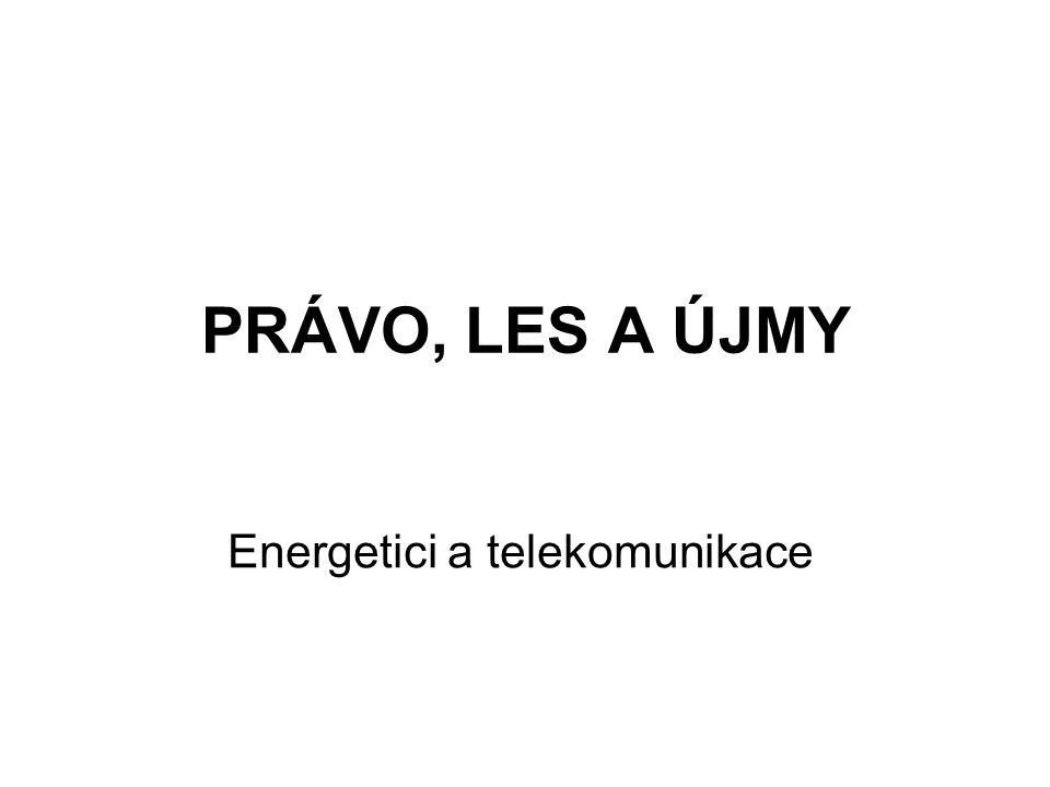 Energetici a telekomunikace