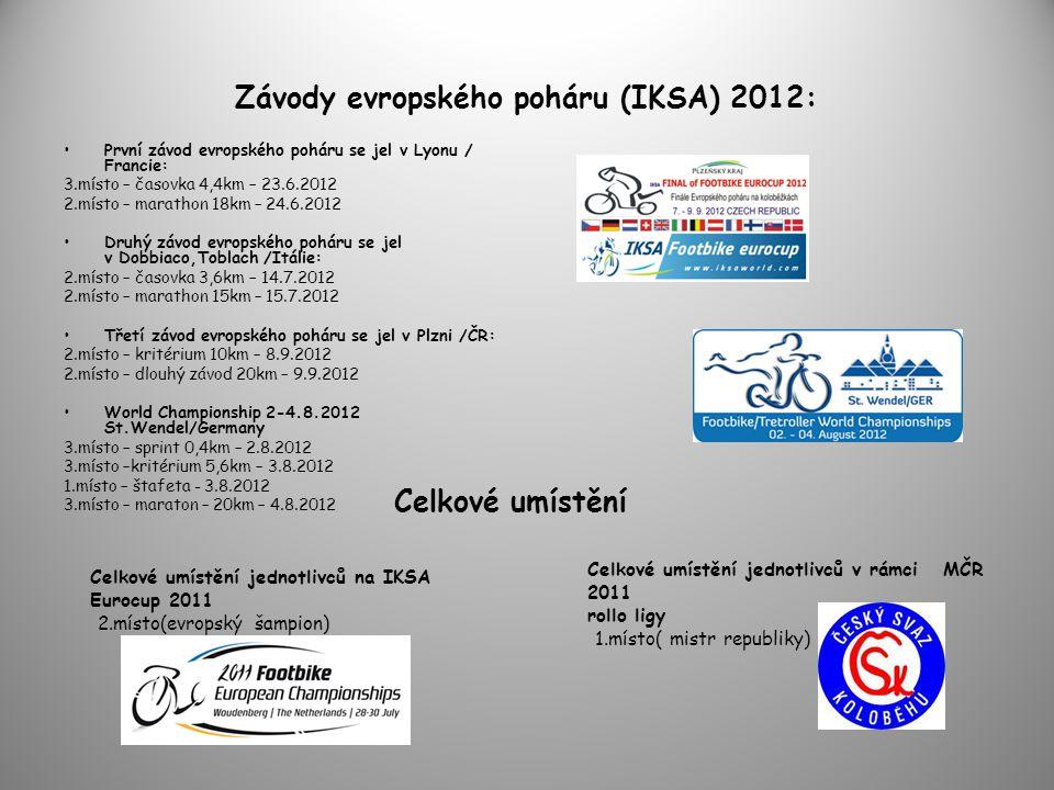 Závody evropského poháru (IKSA) 2012: