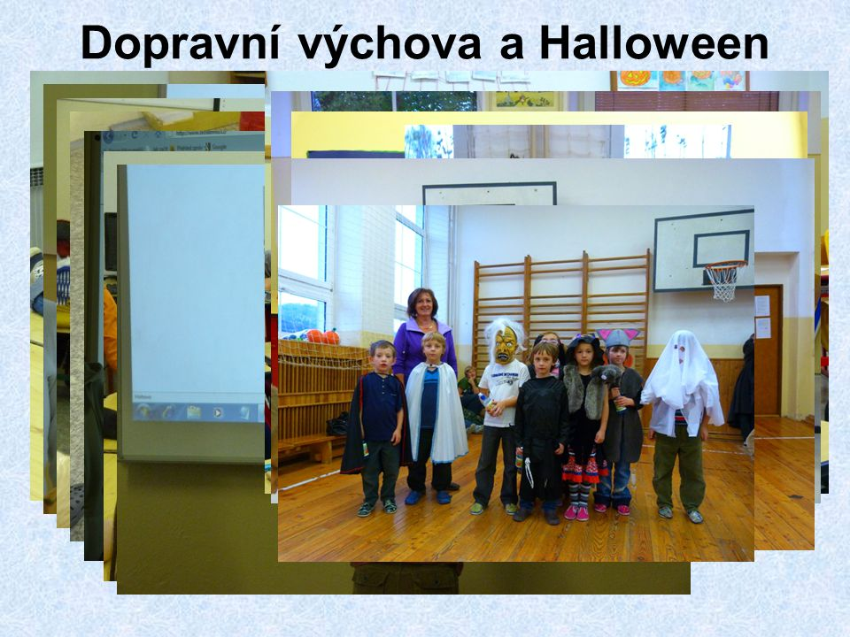Dopravní výchova a Halloween