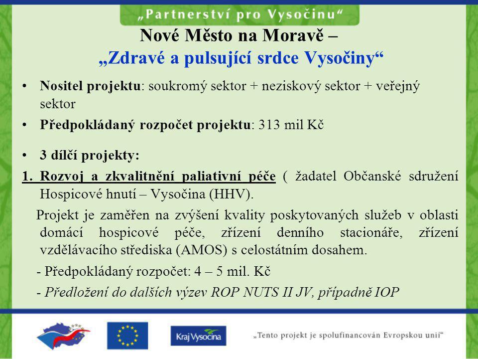 """Nové Město na Moravě – """"Zdravé a pulsující srdce Vysočiny"""