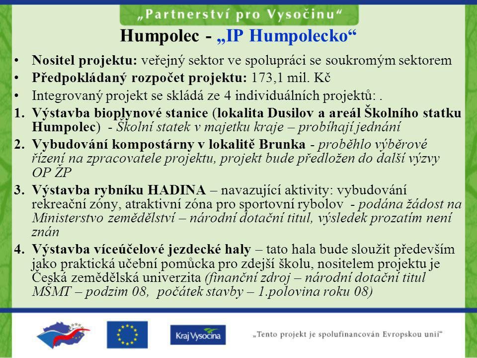 "Humpolec - ""IP Humpolecko"