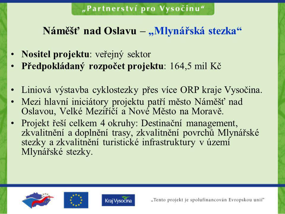 "Náměšť nad Oslavu – ""Mlynářská stezka"