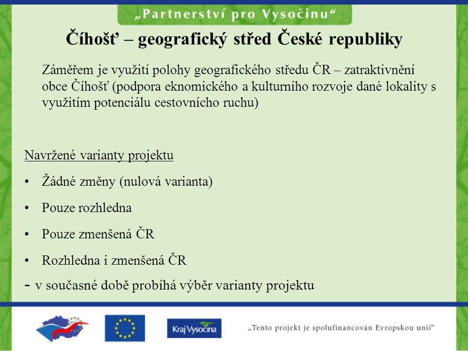 Číhošť – geografický střed České republiky