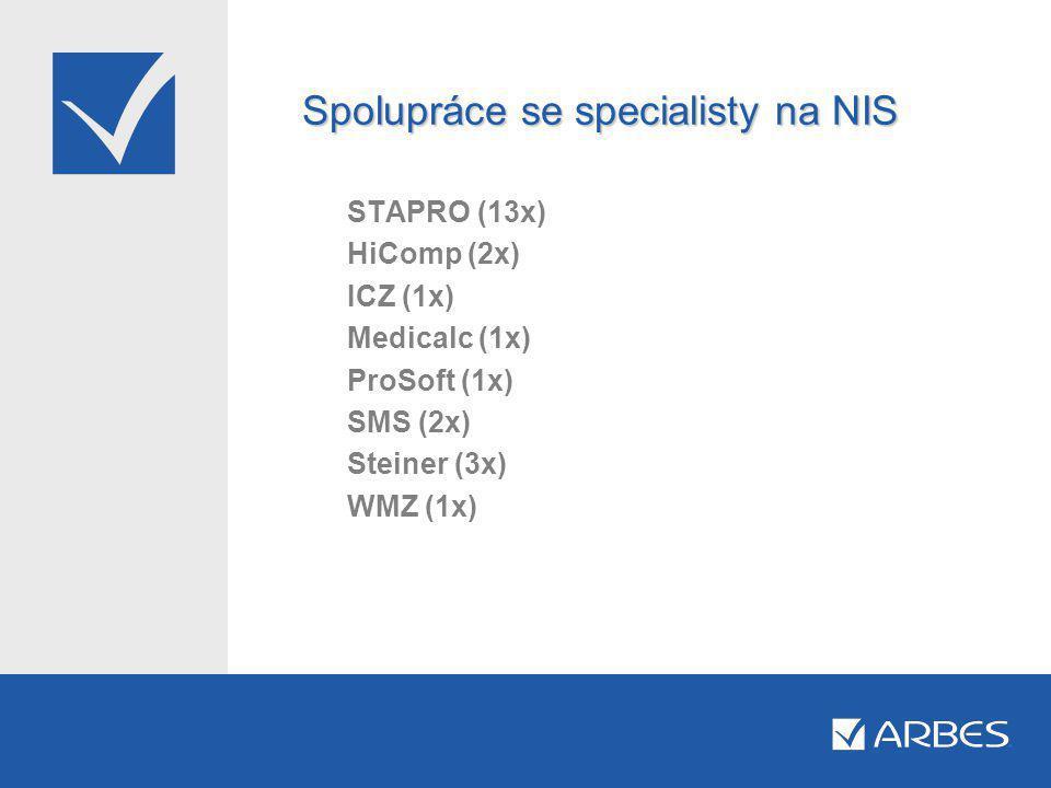 Spolupráce se specialisty na NIS