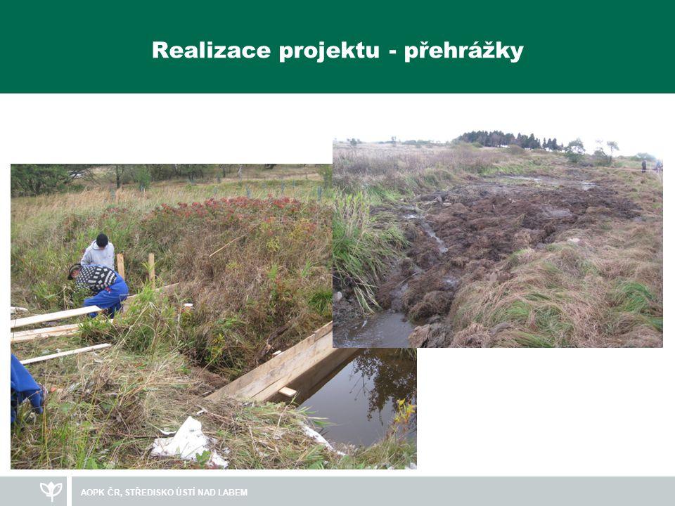Realizace projektu - přehrážky