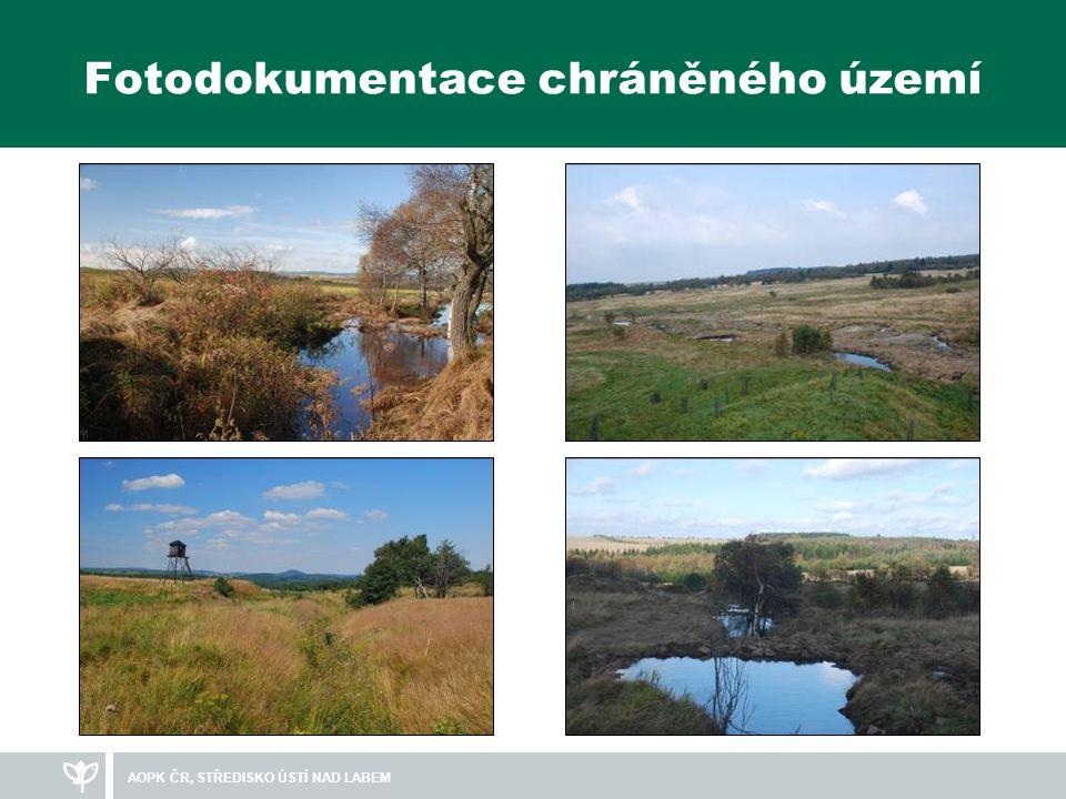 Fotodokumentace chráněného území