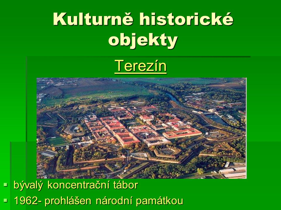 Kulturně historické objekty