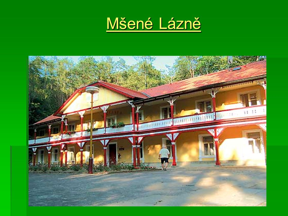 Mšené Lázně