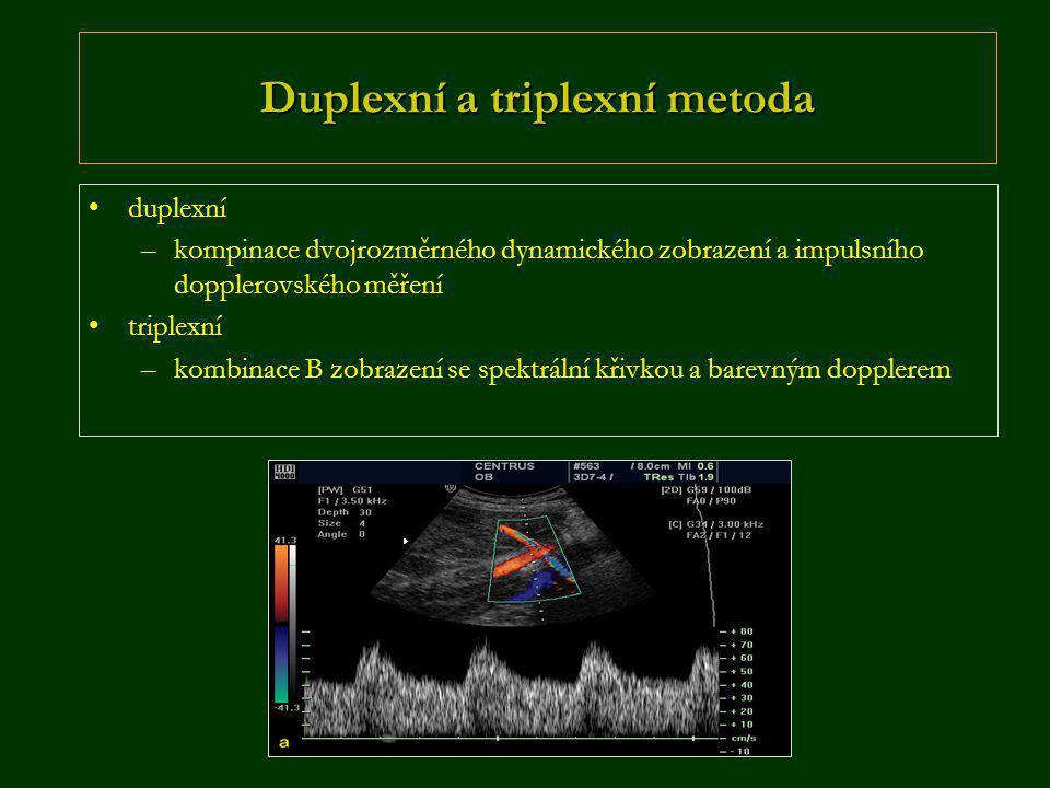Duplexní a triplexní metoda