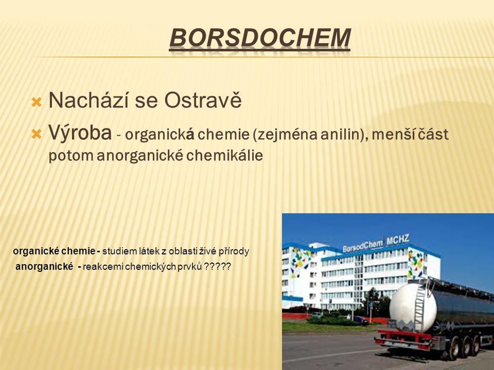 BorsdoChem Nachází se Ostravě