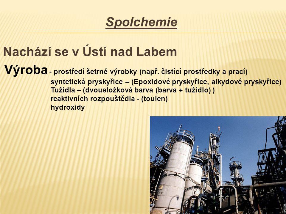 Nachází se v Ústí nad Labem