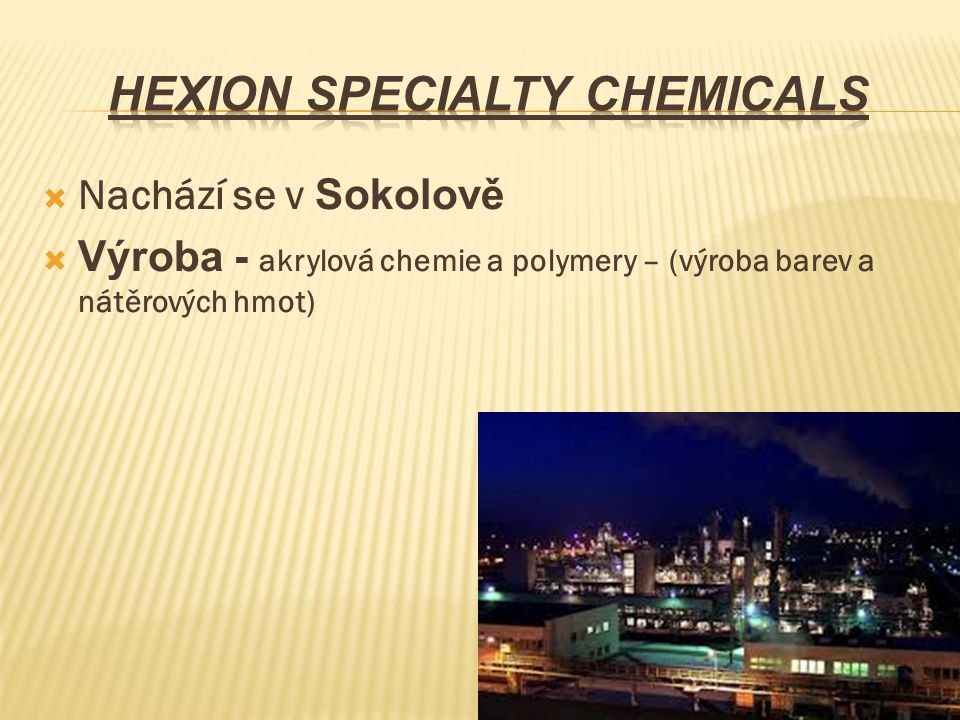 Hexion Specialty Chemicals
