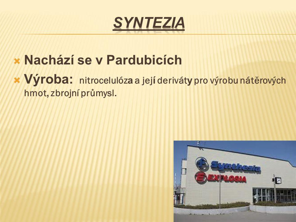 Syntezia Nachází se v Pardubicích