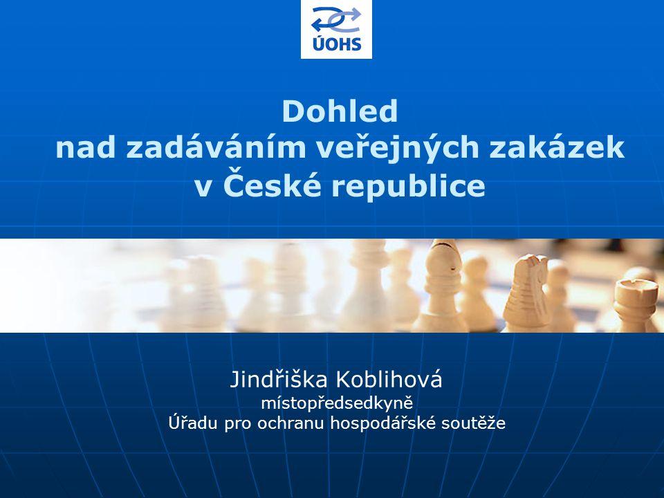Dohled nad zadáváním veřejných zakázek v České republice