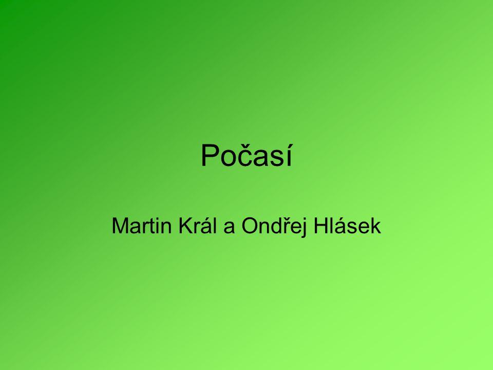 Martin Král a Ondřej Hlásek