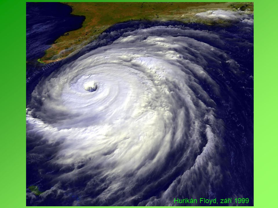 Hurikán Floyd, září 1999
