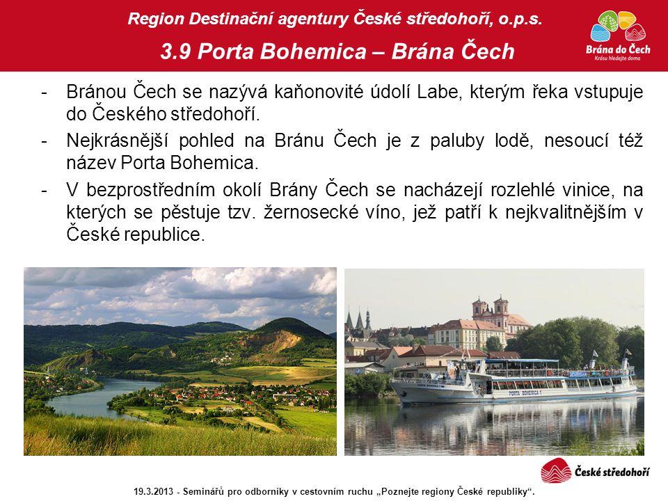 Region Destinační agentury České středohoří, o. p. s. 3