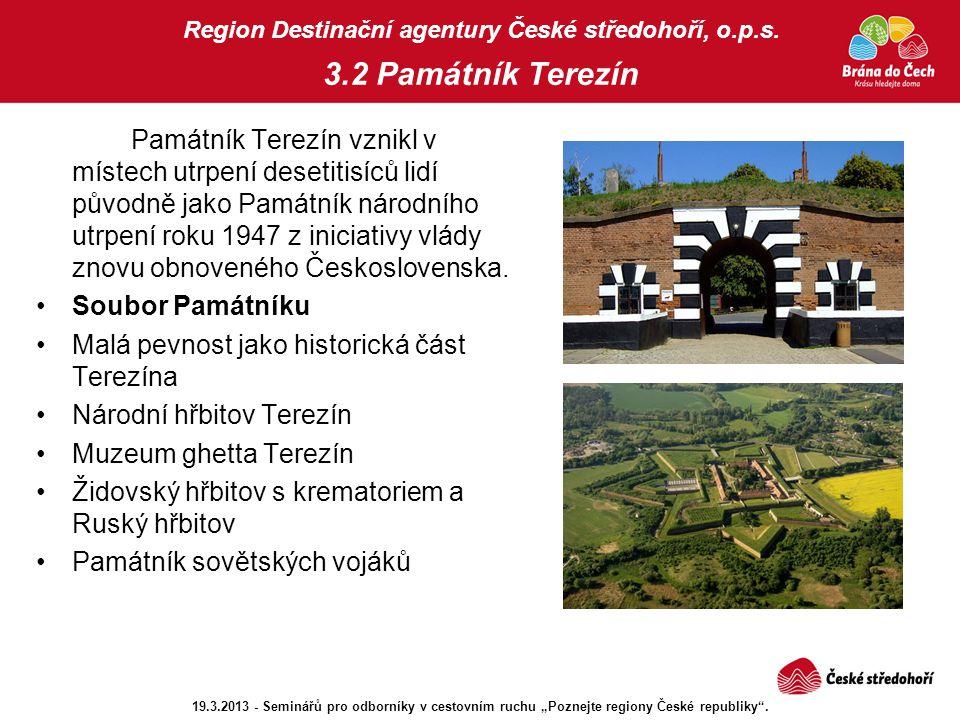 Malá pevnost jako historická část Terezína Národní hřbitov Terezín