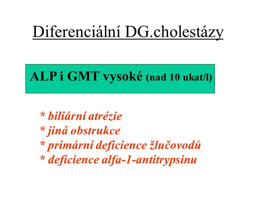 Diferenciální DG.cholestázy