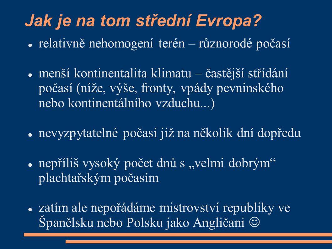 Jak je na tom střední Evropa
