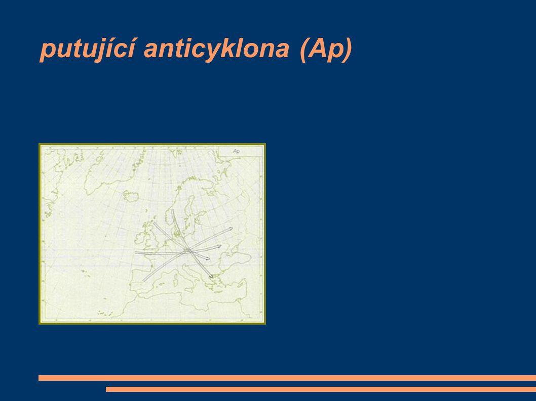 putující anticyklona (Ap)