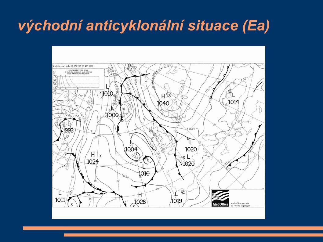 východní anticyklonální situace (Ea)