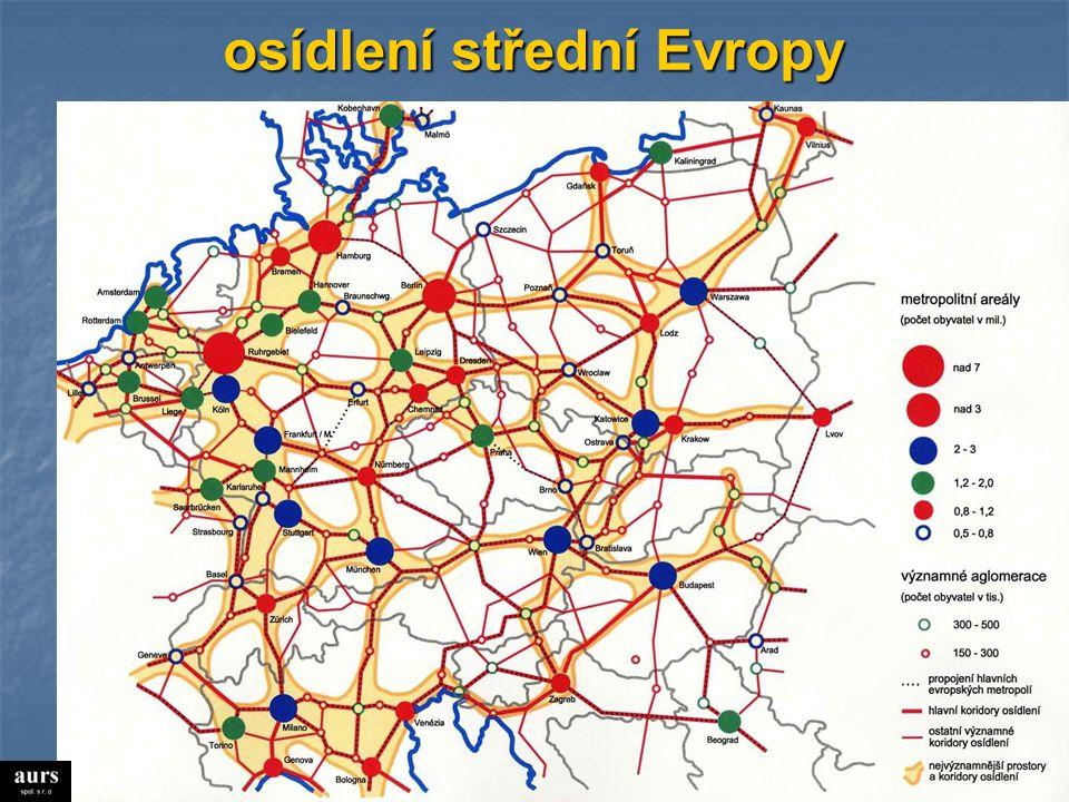 osídlení střední Evropy