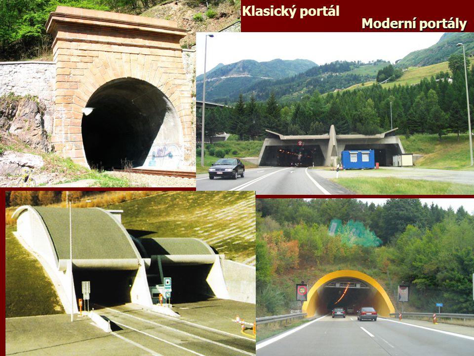Klasický portál Moderní portály