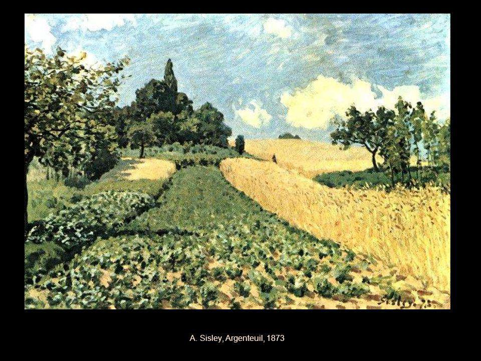 A. Sisley, Argenteuil, 1873