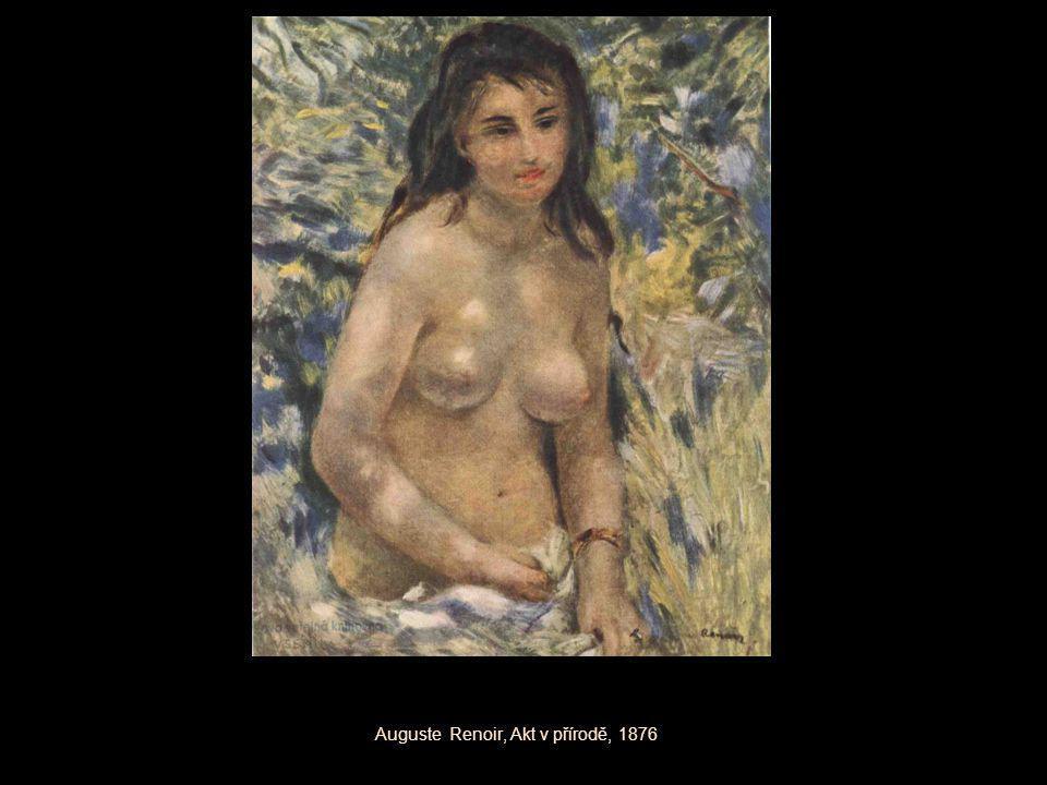 Auguste Renoir, Akt v přírodě, 1876