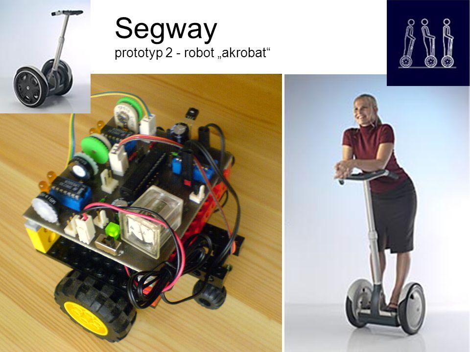 "Segway prototyp 2 - robot ""akrobat"