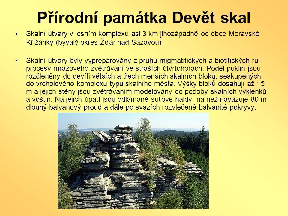 Přírodní památka Devět skal