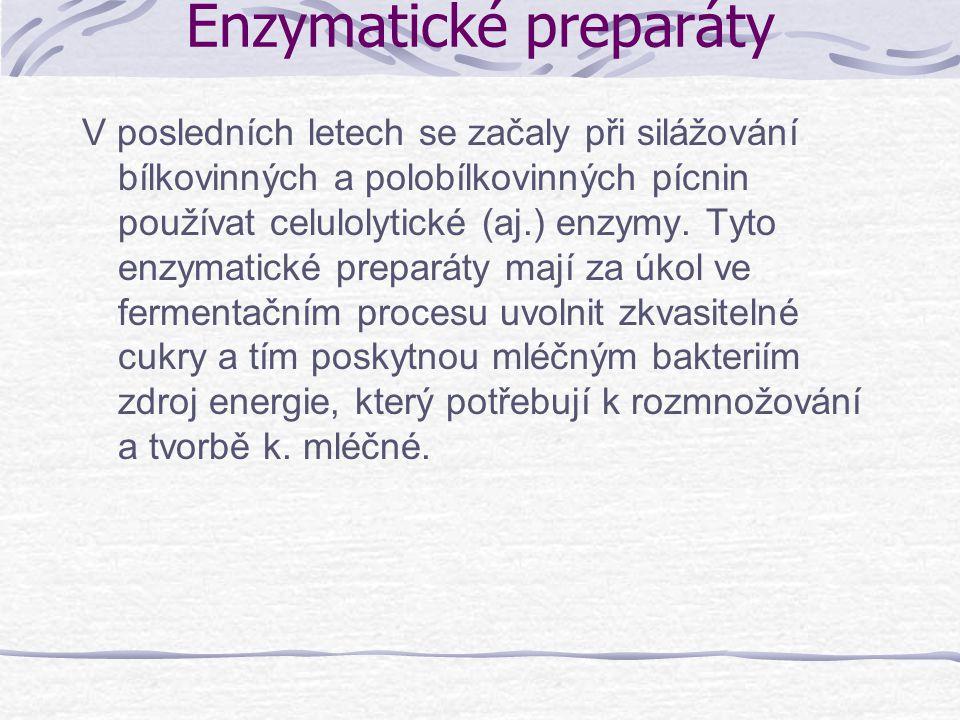 Enzymatické preparáty