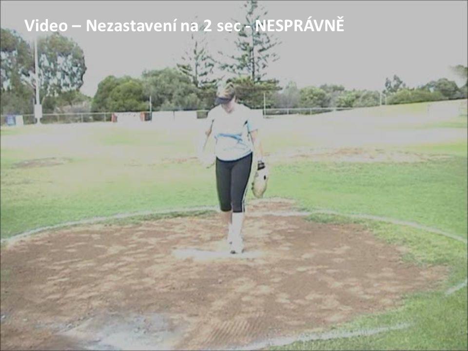 Video – Nezastavení na 2 sec - NESPRÁVNĚ