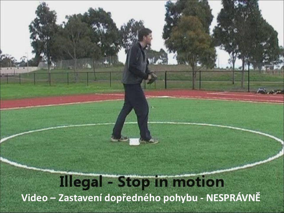 Video – Zastavení dopředného pohybu - NESPRÁVNĚ
